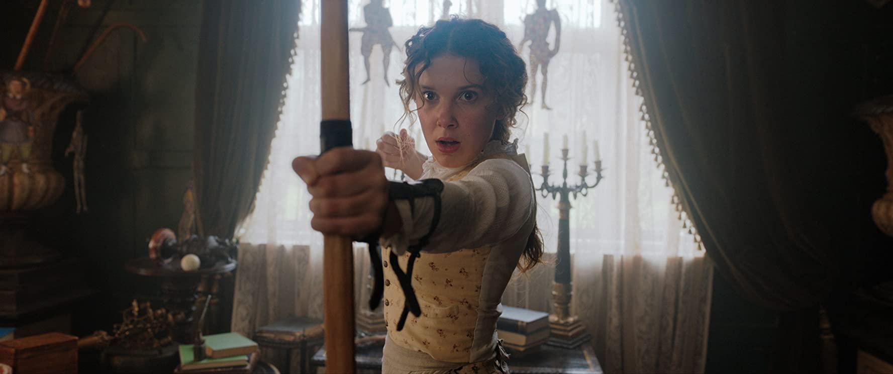 'Stranger things'-actrice bij de pinken als zus van Sherlock Holmes