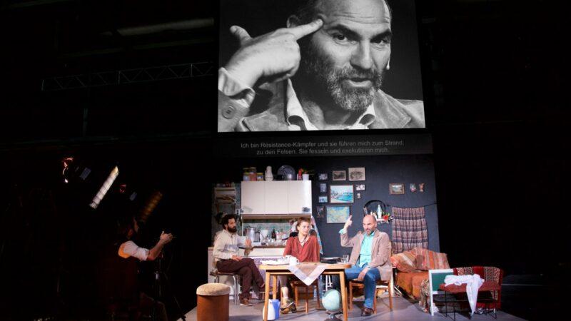 Milo Rau dirigeert een symfonie van stemmen op de vlucht