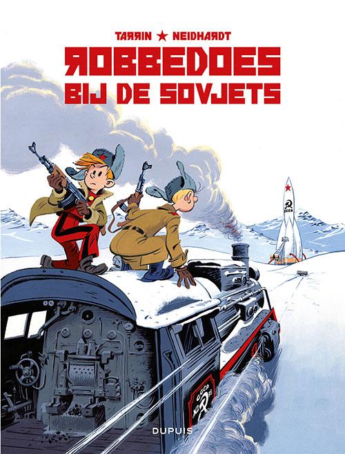 Robbedoes bij de Sovjets Book Cover