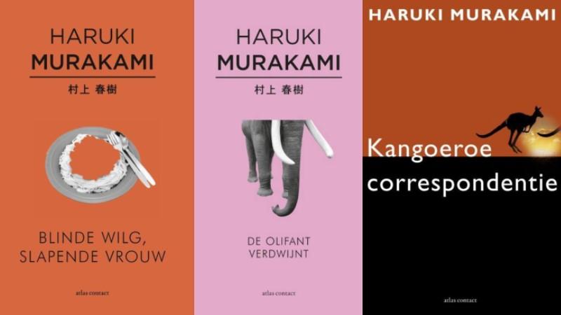 3 terecht gehypte ****-verhalenbundels van Murakami
