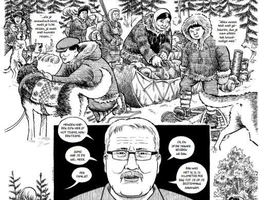 Joe Sacco Canadese natuur