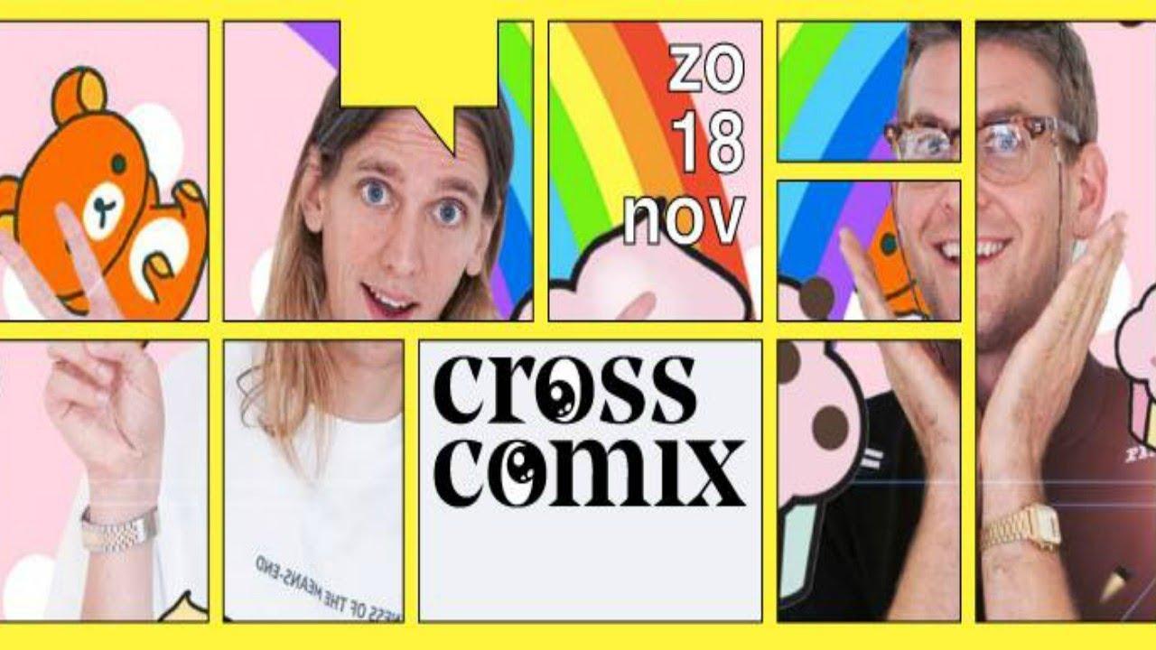 Cross Comix Festival 2018, Rotterdam (18/11/2018)