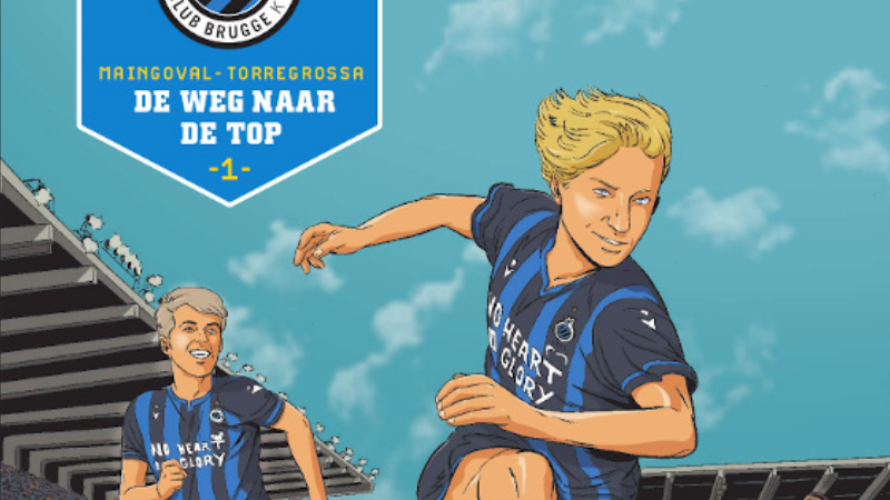 Arthur is de nieuwste poulain in de Club Brugge-strip