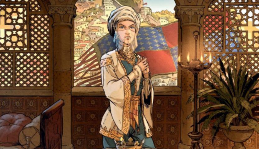 'Constance van Antiochië' is een knap getekende geschiedenisles
