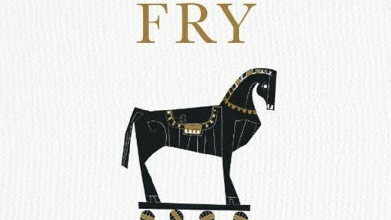 Stephen Fry zet het Trojaanse paard in de gang