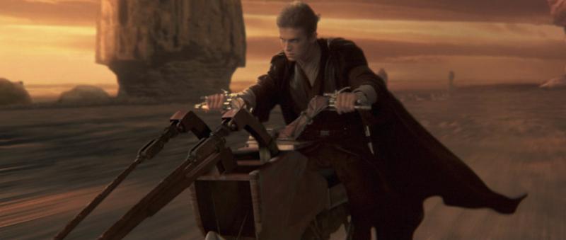 Hayden Christensen als Anakin Skywalker in 'Attack of the clones'
