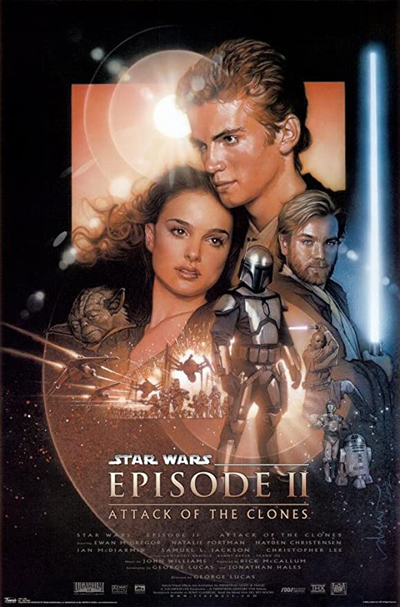 'Attack of the clones' poster