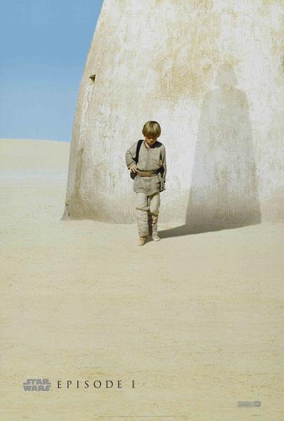Anakin Skywalker (Jake Lloyd), de toekomstige Darth Vader