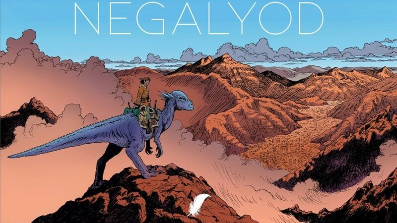 Vincent Perriot knalt in Nederlandstalig debuut 'Negalyod'