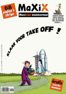 cover stripmagazine MaXiX voor recensie