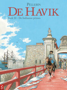 Cover De Havik deel 10 De Indiaanse prinses