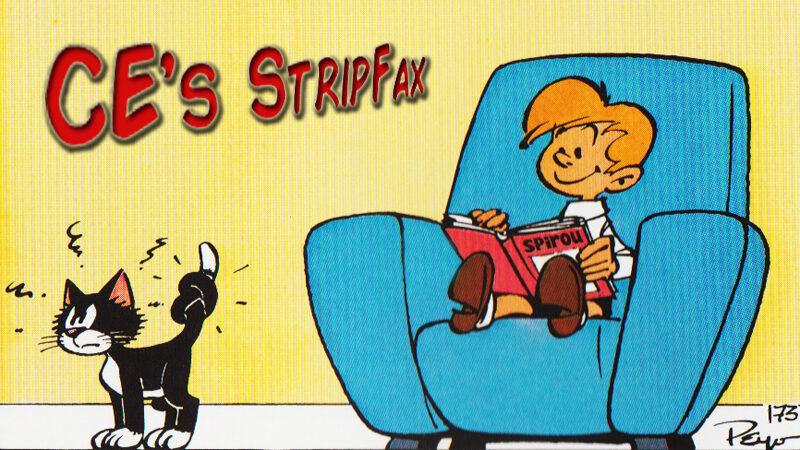 prent Stripfax maart