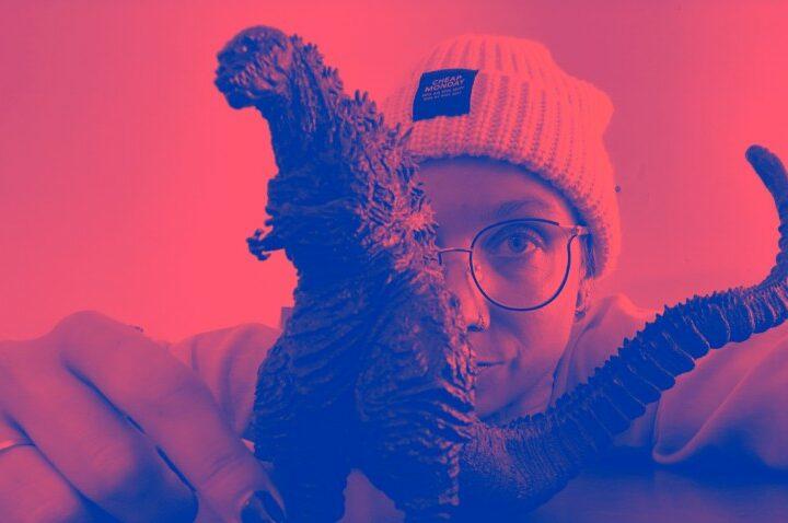 Aafke Romijn Godzilla
