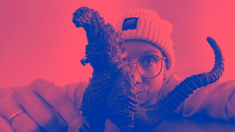Aafke Romeijn versus 'Godzilla' en 'Kenny'