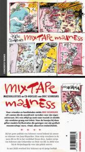 cover back en front van Mixtape Madness van Eric Schreurs