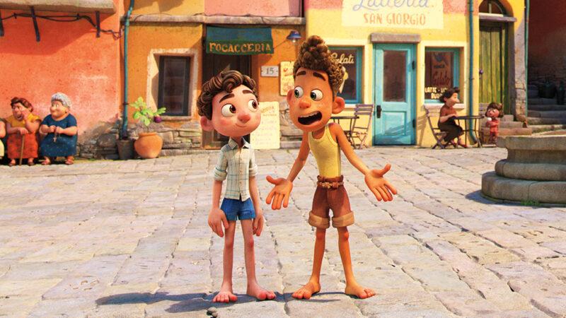 Luca en Alberto