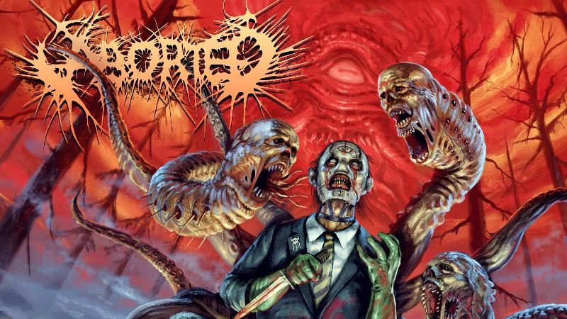 Aborted viert 25 jaar gore metal met nieuw meesterwerk!