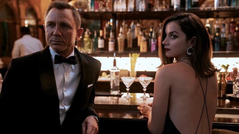 Daniel Craig en Ana de Armas in 'No Time To Die'